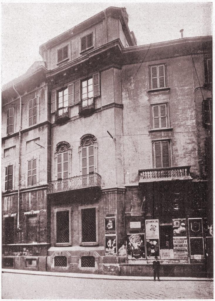 via Olmetto negli anni '20