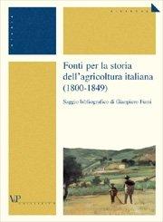 1800-1849 Fonti per la storia dell'agricoltura italiana