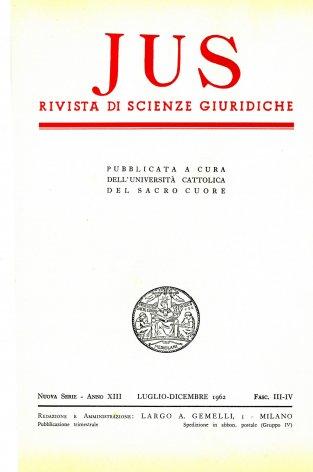 A proposito del movimento riformatore settecentesco nello Stato Pontificio