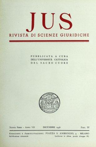Abbozzo del diritto tomista. II: Diritto pubblico, processuale e internazionale
