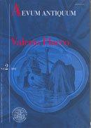 Valerio Flacco: tra similitudini, battaglie e proemi