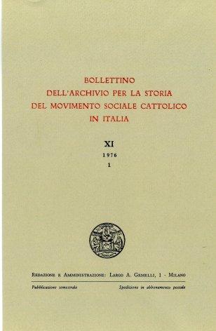 Agricoltura, contratti agrari e sindacati cristiani in Lombardia nel quadriennio 1919-1922