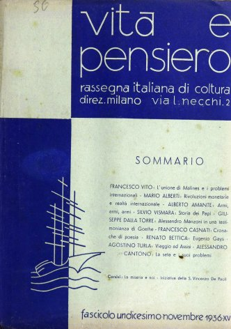 Alessandro Manzoni in una testimonianza di Goethe