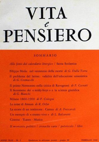 Alle fonti del calendario liturgico / Scholastica, venerabilis patris Benedicti soror...
