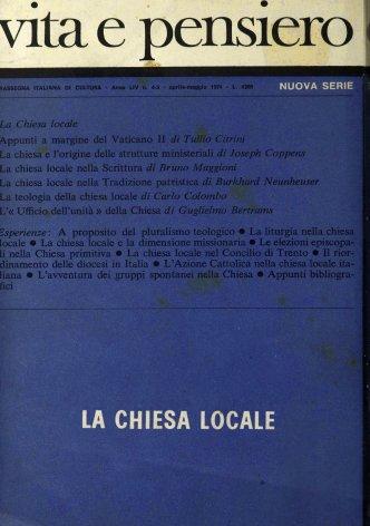 Appunti a margine del Vaticano II