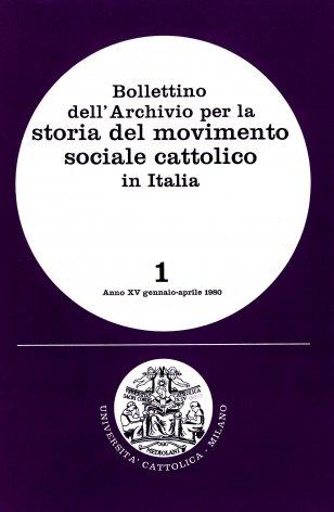 Aspetti organizzativi della cooperazione di credito in Lombardia: le casse rurali cattoliche dal 1886 al 1935