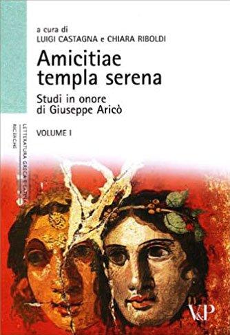 Bibliografia di Giuseppe Aricò
