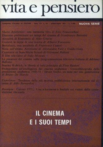 Cannes 1971: una «kermesse» badiale sui ruderi della contestazione rincasata