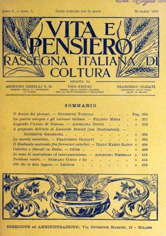 Cattolici e liberali in Italia
