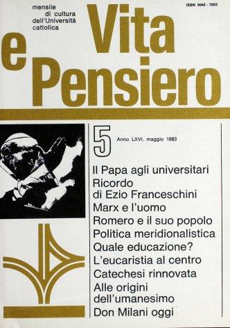 Chiesa, cultura e scuola in don Milani