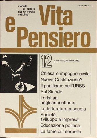 Chiesa italiana e impegno civile