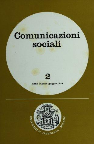 COMUNICAZIONI SOCIALI - 1979 - 2