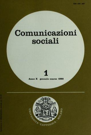 COMUNICAZIONI SOCIALI - 1988 - 1