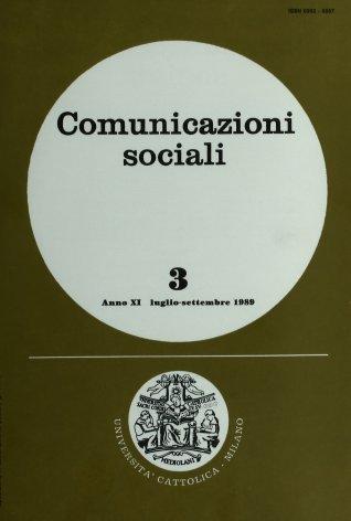 COMUNICAZIONI SOCIALI - 1989 - 3