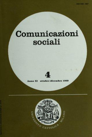 COMUNICAZIONI SOCIALI - 1989 - 4