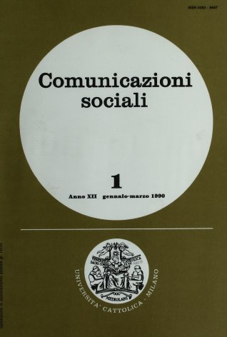 COMUNICAZIONI SOCIALI - 1990 - 1