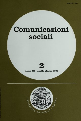 COMUNICAZIONI SOCIALI - 1990 - 2