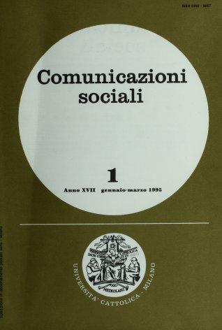 COMUNICAZIONI SOCIALI - 1995 - 1