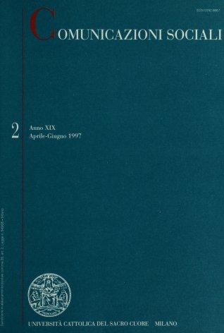 COMUNICAZIONI SOCIALI - 1997 - 2. SCRITTURE PER LA SCENA