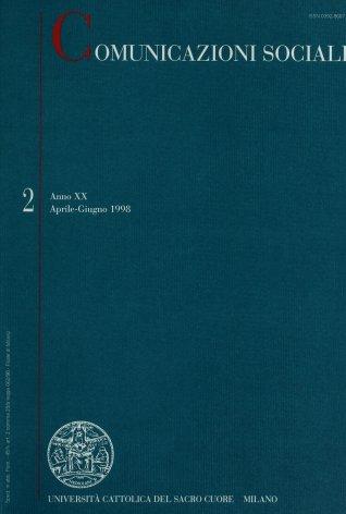 COMUNICAZIONI SOCIALI - 1998 - 2. I LABORATORI DELLA COMUNICAZIONE