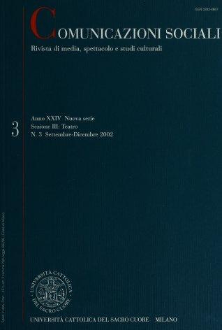 COMUNICAZIONI SOCIALI - 2002 - 3