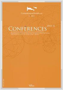 COMUNICAZIONI SOCIALI - 2011 - CSonline 5. Conferences. Dottorato di ricerca in Culture della Comunicazione, Dipartimento di Scienze della Comunicazione e dello Spettacolo.