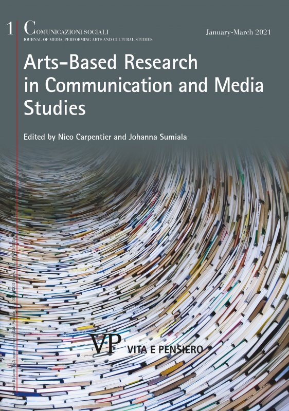 COMUNICAZIONI SOCIALI - 2021 - 1. Arts-Based Research in Communication and Media Studies