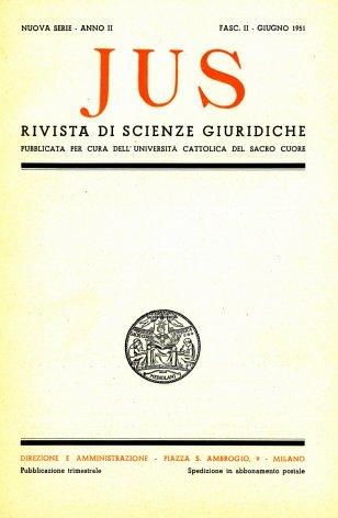 Congresso processualistico in Germania - Cattolicesimo e unità europea - Sindacalismo e socialità