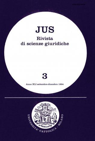Considerazioni sul principio di sussidiarietà