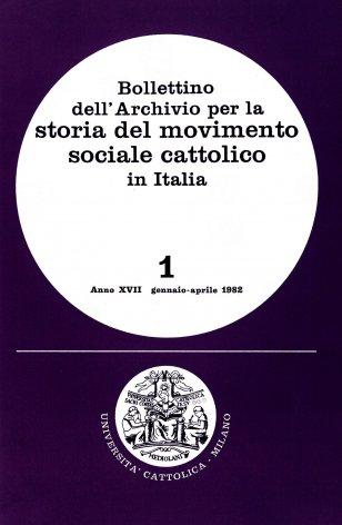 Crisi economica, sviluppo sociale e cattolicesimo: l'VIII congresso cattolico a Lodi (1890)