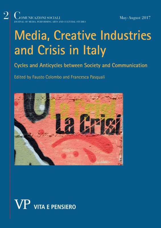 Crisis, Innovation and the Cultural Industry in Italy