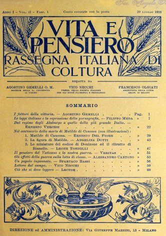 Dal regime degli Absburgo a quello della più grande Italia