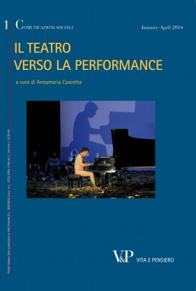 Dal teatro drammatico al teatro performativo: una nota su Hans-Thies Lehmann - From dramatic to performative theatre: Hans-Thies Lehmann