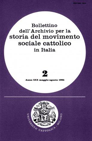 Dall'intransigentismo al cattolicesimo democratico: la presenza dei cattolici italiani nelle trasformazioni politiche e sociali del Paese (1904-1922)