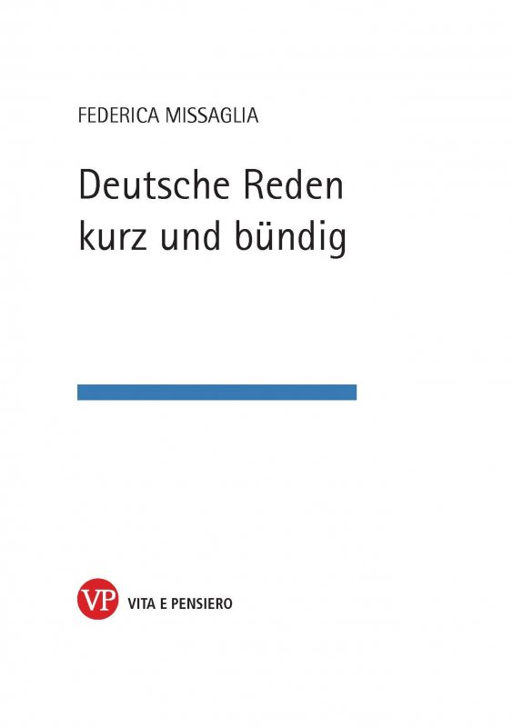 Deutsche Reden kurz und bundig