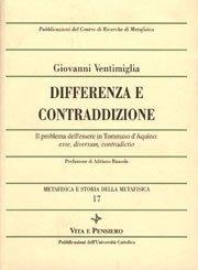 Differenza e contraddizione