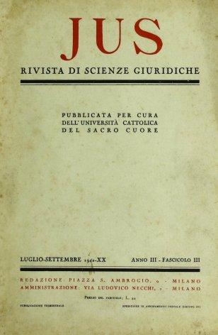 Discorso di S. S. Pio XII per l'inaugurazione del nuovo anno giudiziario del Tribunale della S.R. Rota