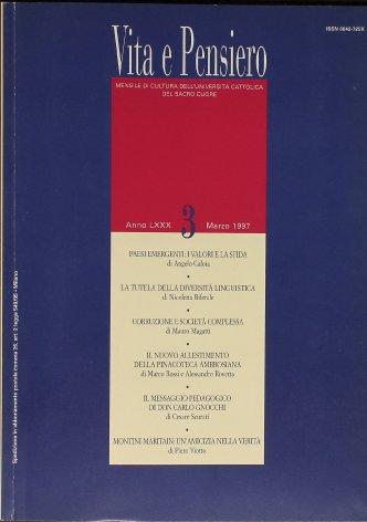 Don Gnocchi: razionalità e profezia di un messaggio pedagogico