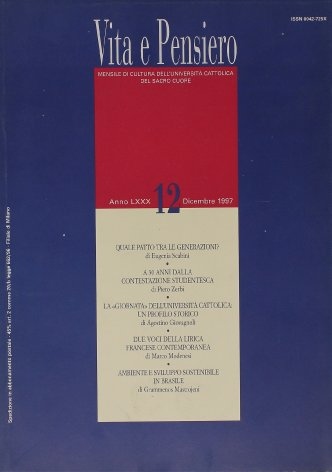 Due voci della lirica francese contemporanea:  Yves Bonnefoy e Philippe Jaccottet
