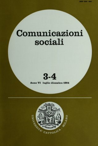 Economia dell'azienda industriale e ricerca sulla comunicazione