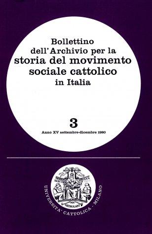 Elenco di pubblicazioni sul movimento sociale cattolico edite in Italia dal 1976 al 1979