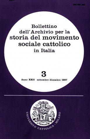 Elenco di pubblicazioni sul movimento sociale cattolico edite in Italia nel 1986