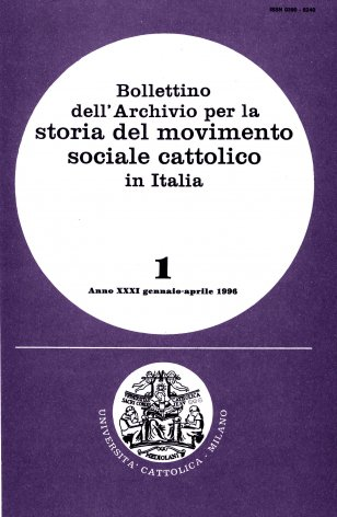 Elenco di pubblicazioni sul movimento sociale cattolico edite in Italia nel 1994