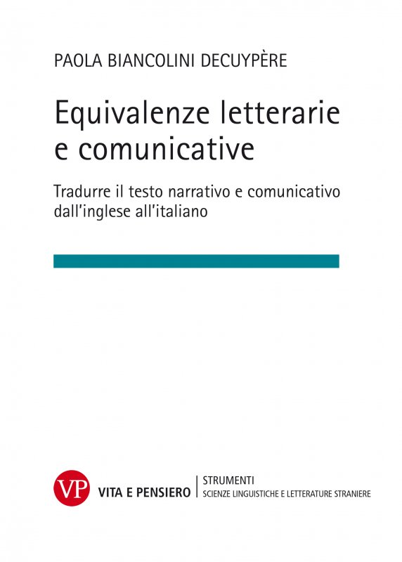 Equivalenze letterarie e comunicative