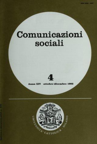 Etica, Comunicazione, Comunicazioni di massa