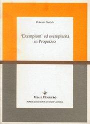 'Exemplum' ed esemplarità in Properzio