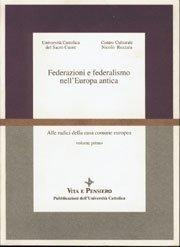 Federazioni e federalismo nell'Europa antica