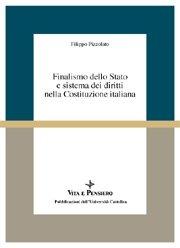 Finalismo dello Stato e sistema dei diritti nella Costituzione italiana