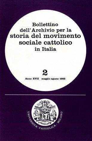 Fonti archivistiche per la storia del movimento sindacale bianco: il fondo Achille Grandi