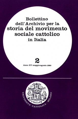Fonti per la storia del movimento sociale cattolico nell'Archivio storico diocesano di Novara